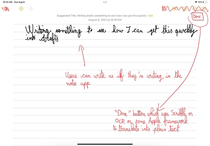 """""""Notes Layer"""" with handwritten content"""