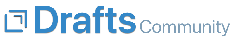 Drafts Community