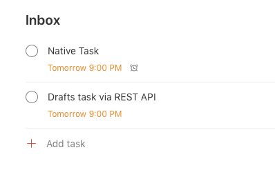 Screenshot of Todoist (14-01-2020, 1-30-38 pm)